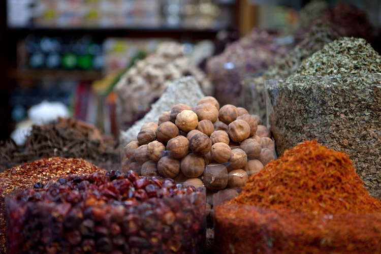 variety at the spice market
